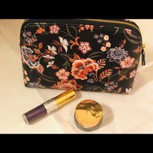Brand New Loft Floral Comestic Bag